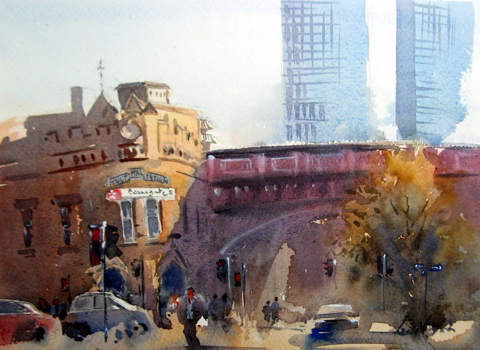 Deansgate Station, Manchester
