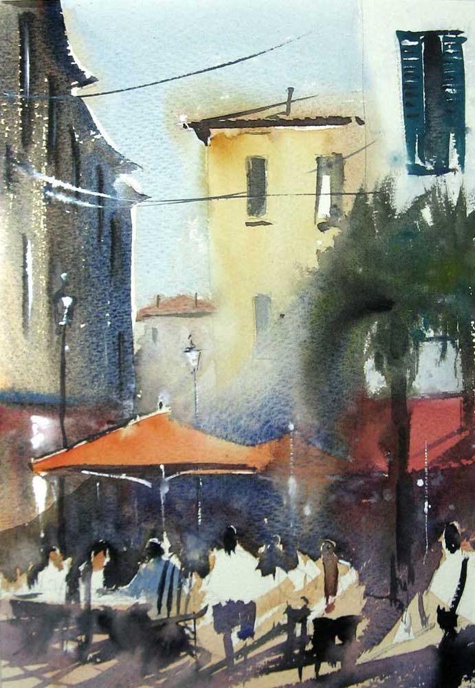 Italian umbrellas