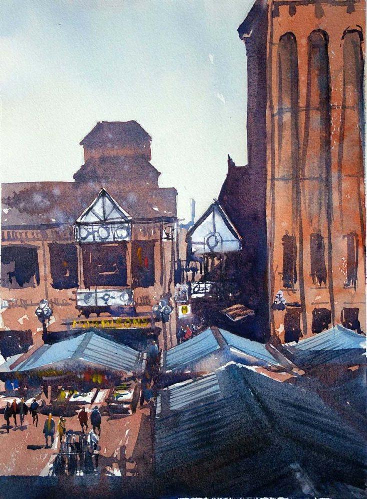 Wigan Open market